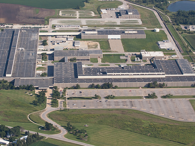 The John Deere factory in Waterloo, Iowa, is part of an ag manufacturing infrastructure that employs 114,000 Americans. (Photo courtesy John Deere)